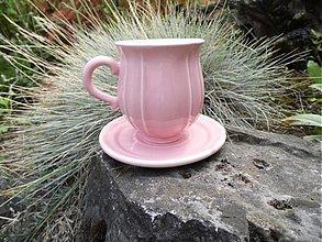 Nádoby - šálka jemne ružová - 2917918