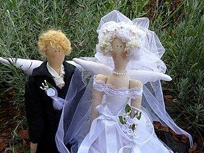 Bábiky - svadobné víly - 2922085