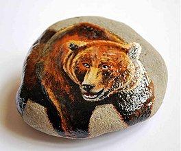 Dekorácie - Medveď hnedý - 2922973