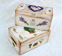 Krabičky - Bednička na lieky-bylinky - 2924183