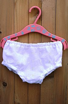 Detské oblečenie - Zakry plienku.. madeirou! - 2925587