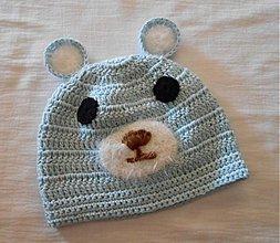 Detské čiapky - Skladom- háčkovaná čiapka - 2928377