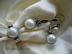 Sady šperkov - perlová súprava - 2942208
