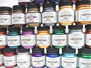 Farby-laky - Metalické krycie farby Lumiére - 2944198