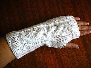 Rukavice - Snehulienkine rukavičky - 2946185