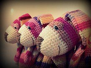 Hračky - háčkovaná zajačica Evelína - 2949293