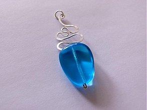 Náhrdelníky - Modrá lagúna-výpredaj - 2949677