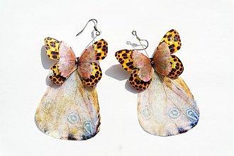 Náušnice - motýlie - 2951704