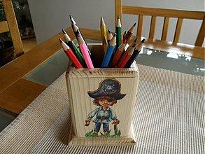 Detské doplnky - Stojanček na ceruzky,pastelky... - 2958052