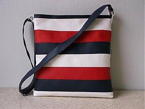Kabelky - Biela/modra/červená - 2959102