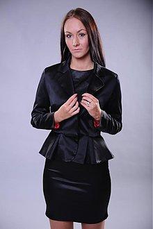 Kabáty - Sako s volánom Peplum rôzne farby - 2964961