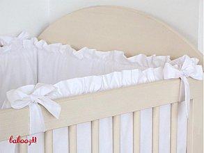 Textil - Hniezdo s fodrou biele - 2964984