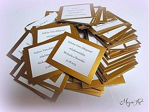 Papiernictvo - Darčekové kartičky - Dolce chandelier II. - 2965070