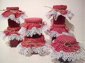 Úžitkový textil - Klobúčiky na džemík - 2966302