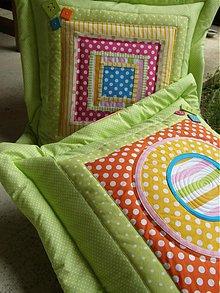 Úžitkový textil - Milujem farby...a život...:))-vankúše - 2966731