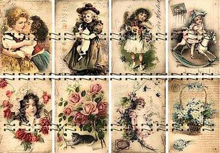 Textil - Bavlněná látka- panel , výběr  B20 - 2967241