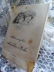 Papiernictvo - Gratulácia k svadbe - 2974135