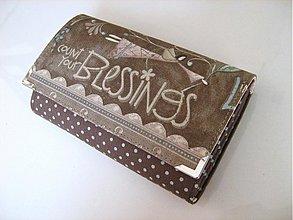 Peňaženky - Víla Andělínka,střední velikost i na karty15x10,5 - 2977461