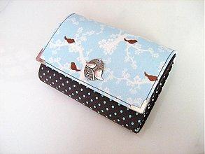 Peňaženky - Pípání na větvičce - až na 12 karet :-) - 2977480