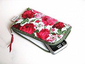 Na mobil - Romantické růže - pouzdro na mobil - 2977722