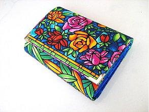 Peňaženky - Růže od Tiffanyho - 2979284