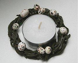 Dekorácie - venček vajíčka - skladom - 2981228