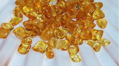 Minerály - Jantár - zlomky I - 2984261