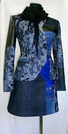 Kabáty - Retro kabátik-zľava 50%!!! - 2989662