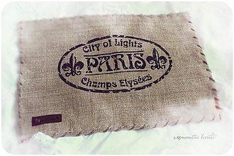 Úžitkový textil - Paris - 2992038