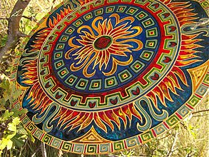 Dekorácie - Mandala Spontánnosti - 2995857