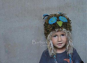 Detské čiapky - sovicka - 3002822