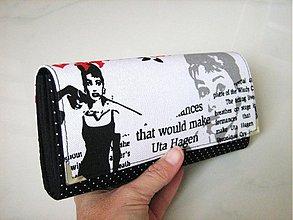 Peňaženky - Audrey Hepburn - velká, na 10 i více karet - 3003189