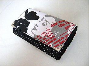 Peňaženky - Něžná Audrey Hepburn - elegantní peněženka 15 cm - 3003190