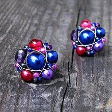 Náušnice - Náušničky Blueberries & Cranberries II... - 3006353