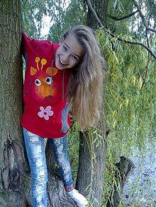Detské oblečenie - žirafková mikinka - 3014816