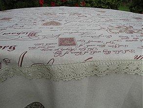 Úžitkový textil - Obrus - Boroko - - 3020120