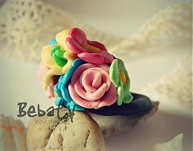 Prstene - Kvety v podkroví - barter - 3030487