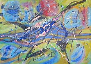 Obrazy - Rieka (67x96 cm) - 3032205