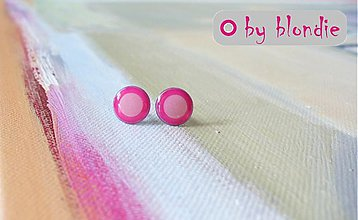 Náušnice - Bobule - pink pink - 3034960