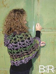 Iné oblečenie - poončo smaragd - 3037722