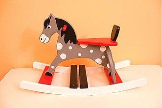 Hračky - hojdací koník - Sivko - 3037857
