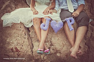 Tabuľky - Svadobná menovka na fotenie - 3038466