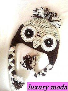 Detské čiapky - sovicka... - 3047091