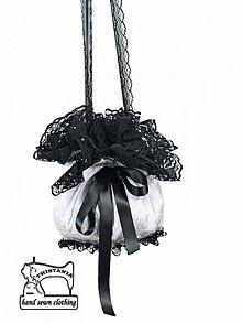 Kabelky - Burleska alebo pompadúrky - Svadobná kabelka 0140 - 3050268