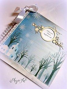 Papiernictvo - White Christmas... - 3053977