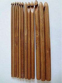 Pomôcky/Nástroje - Sada 12tich bambusových háčikov  - 3061166