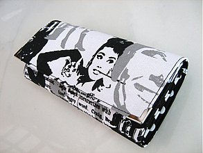 Peňaženky - Audrey Hepburn - velká, na více karet - 3062189