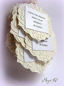 "Papiernictvo - Na svadobné vínečko ""Amor a la Champagne"" - 3063857"