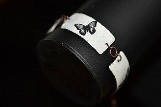 Náramky - náramek..motýl - 3065755