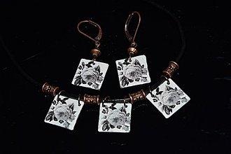 Sady šperkov - souprava..růže - 3065892